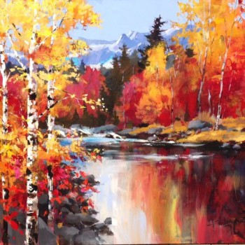Reflections - By Canadian Artist Brent Heighton