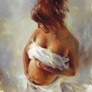Expecting - By Canadian Artist Gene Prokop
