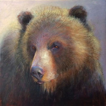 Boo Grizzly - By Canadian Artist Linda Wilder