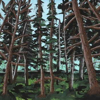 Canadian Pines - Limited Edition Giclee - By Canadian Artist Luke W Hodgson