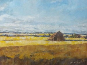 Landscape Paintings Holly Dyrland Alberta Artist
