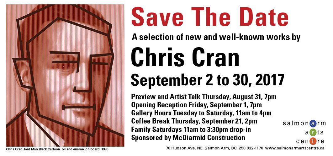 Alberta Artists Canada 150 Chris Cran Calgary Artist